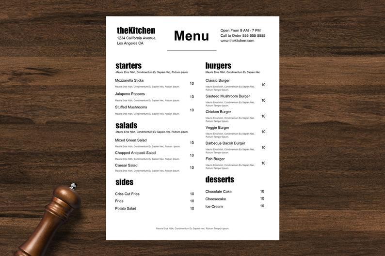 menu digitale ristoranti